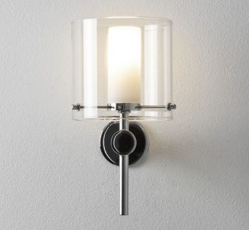 Arezzo Wall Light Arezzo, Polished Chrome, wall light