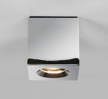 ASTRO Kos Square Polished Chrome Astro, ceiling light, Kos Square, Matt Concrete, Polished Chrome