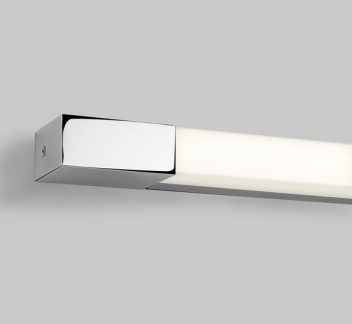 Romano 1200 LED Bathroom Light, LED, Polished Chrome, Romano 1200