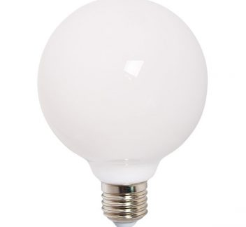 Lamp 9watt globe 95mm opal led E27 lamp