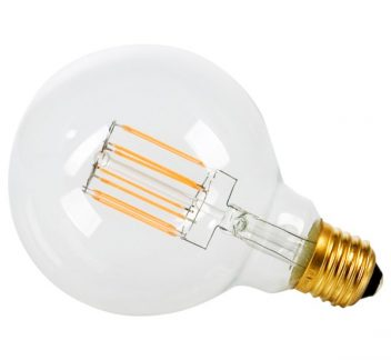 Lamp vintage led E27 6watt clear lamp