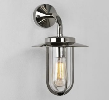 Montparnasse wall light polished nickel