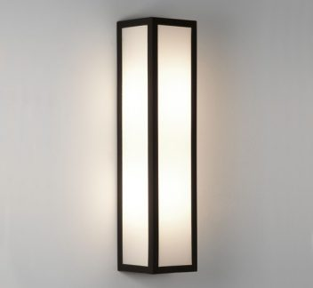 Salerno matt black wall light Matt Black, Salerno, wall light