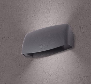 Fumagalli ABRAM 190 - Grey ABRAM 190, exterior light, fumagalli, LED, wall light
