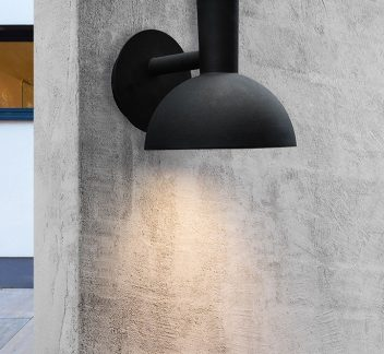Nordlux Arki Outdoor Light Arki, Galvanised, light, nordlux, outdoor, wall light