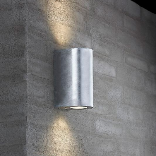 Nordlux Canto Maxi 2 Canto Maxi, Galvanised, nordlux, wall light