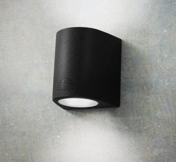 Fumagalli MARTA 160 2 Light - Black exterior, fumagalli, LED, marta, outdoor, Up&down