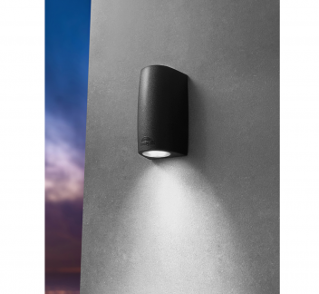 Fumagalli MARTA 90 1 LT Black exterior light, fumagalli, LED, MARTA 90, outdoor wall light