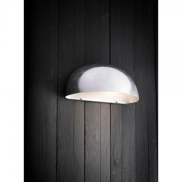 Nordlux Scorpius Maxi Wall  Light Galvanised, outdoor, Scorpius Maxi, wall light